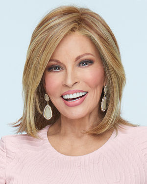Big Time Lace Front & Monofilament Top Synthetic Wig by Raquel Welch