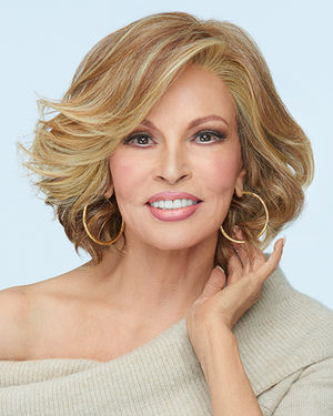 Flirt Alert Lace Front & Monofilament Part Synthetic Wig by Raquel Welch