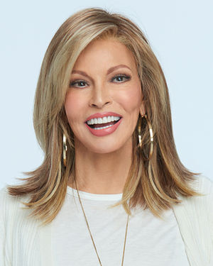 Watch Me Wow Lace Front & Monofilament Crown Synthetic Wig by Raquel Welch