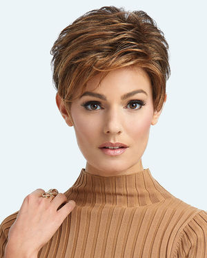 Advanced French Lace Front Synthetic Wig by Raquel Welch