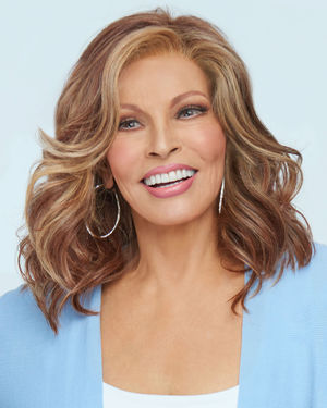 Maximum Impact Lace Front & Monofilament Top Synthetic Wig by Raquel Welch