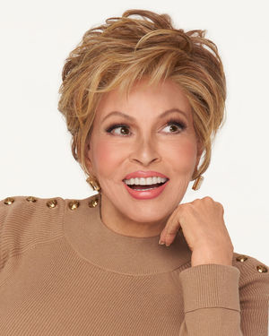 Ready For Takeoff Lace Front & Monofilament Top Synthetic Wig by Raquel Welch
