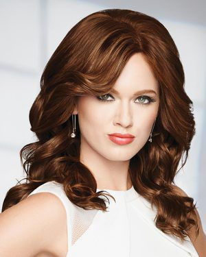 Knockout Petite/Average Monofilament Human Hair Wig by Raquel Welch