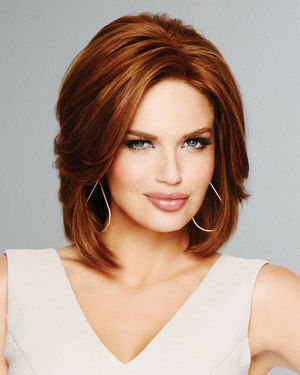 Hollywood and Divine Lace Front & Monofilament Human Hair Wig by Raquel Welch