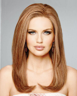 High Fashion Lace Front & Monofilament Human Hair Wig by Raquel Welch