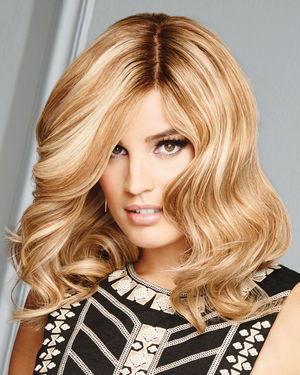 The Good Life Lace Front & Monofilament Human Hair Wig by Raquel Welch
