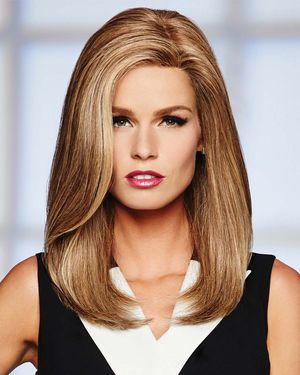 High Profile Lace Front & Monofilament Human Hair Wig by Raquel Welch