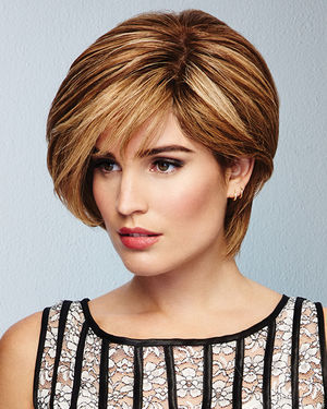 Calling All Compliments Lace Front & Monofilament Remy Human Hair Wig by Raquel Welch