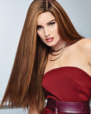 Glamour and More Lace Front & Monofilament Remy Human Hair Wig by Raquel Welch