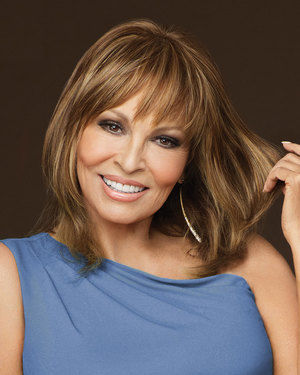 Faux Fringe Monofilament Crown Wiglet by Raquel Welch