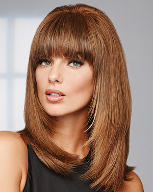 Game Changer Monofilament Human Hair Wiglet by Raquel Welch