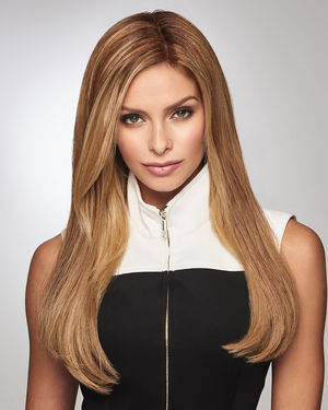 Gilded 18 inch Monofilament Human Hair Wiglet by Raquel Welch