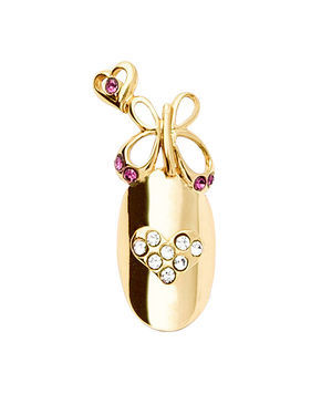 Stephen Nail Jewelry Butterfly (Medium Gold)
