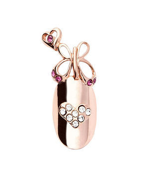 Stephen Nail Jewelry Butterfly (Medium Pink Gold)