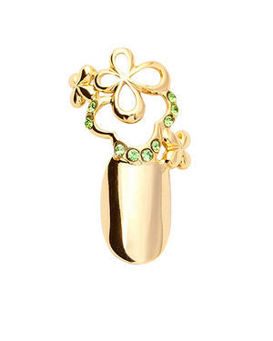 Stephen Nail Jewelry Clover (Small-Gold)