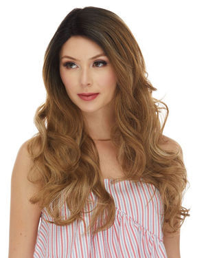 HBL Selena Lace Front Human Hair Blend Wig by Sepia