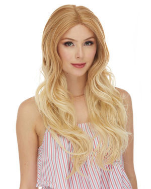 HBL Debbie Lace Front Human Hair Blend Wig by Sepia