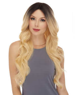 HBL Alison Lace Front Human Hair Blend Wig by Sepia