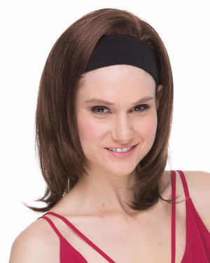 Mildred Headband Synthetic Wig by Sepia