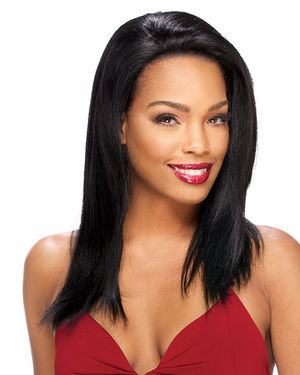 Lace Indian Straight Lace Front Remy Human Hair by Sensual