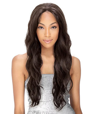 Lacy Isabel Lace Part Human Hair Blend Wig by Sensual