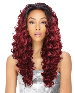 Lacy Pamela Lace Part Human Hair Blend Wig by Sensual