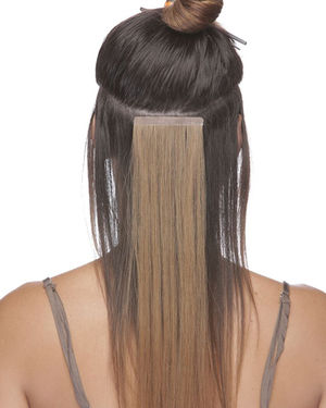 Sunset PU Skin Tape Extension 14 inch Remy Human Hair by Elegante