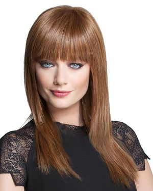 Sleek & Straight Lace Front & Monofilament Crown Synthetic Wig by TressAllure
