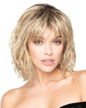 New Wave Lace Front & Monofilament Top Synthetic Wig by TressAllure