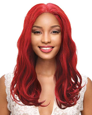 Tisha Lace Front Human Hair Blend Wig by Sensual