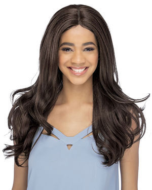 Lenora Lace Front & Lace Part Synthetic Wig by Vivica Fox