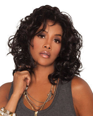 Joanna Lace Front Synthetic Wig by Vivica Fox