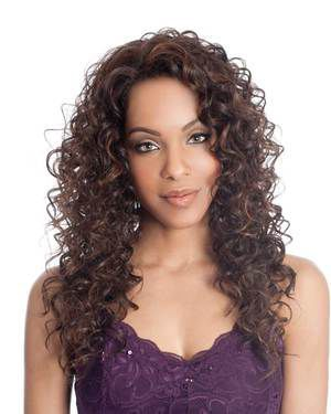 Aqua Lace Front Synthetic Wig by Vivica Fox