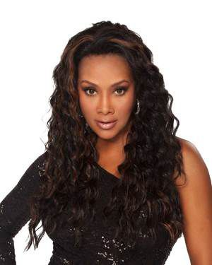 Augusta Lace Front Synthetic Wig by Vivica Fox