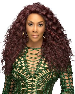 Julia Lace Front Synthetic Wig by Vivica Fox