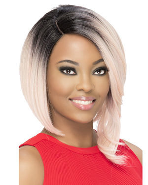 Cina Lace Front Synthetic Wig by Vivica Fox