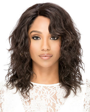 Weaver Lace Front Remy Human Hair Wig by Vivica Fox