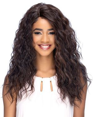 Lina Lace Front & Lace Part Synthetic Wig by Vivica Fox