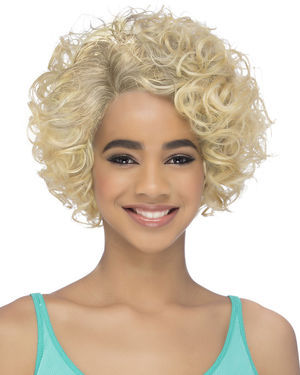 Janey Lace Front & Lace Part Synthetic Wig by Vivica Fox