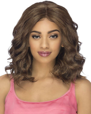 Calia Lace Front & Lace Part Synthetic Wig by Vivica Fox