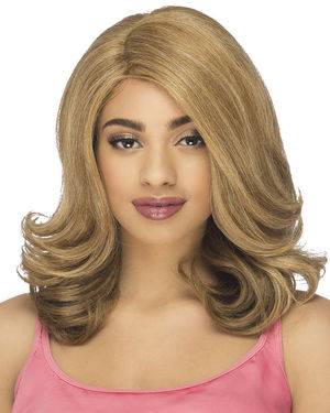Dacia Lace Front & Lace Part Synthetic Wig by Vivica Fox