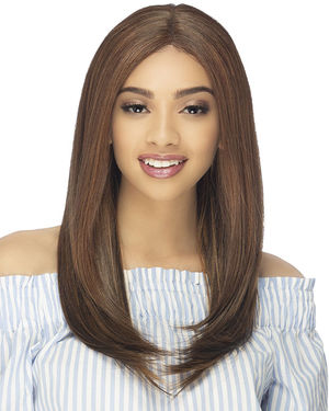 Hollis Lace Front & Lace Part Synthetic Wig by Vivica Fox