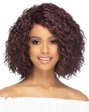 Payton Lace Front & Lace Part Synthetic Wig by Vivica Fox