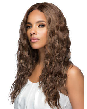 Tessa Lace Front & Lace Part Synthetic Wig by Vivica Fox
