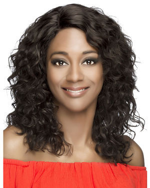 Keelin Lace Front Remy Human Hair Wig by Vivica Fox