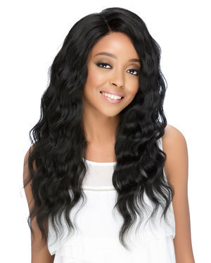 HMBL-Oslo Lace Front Human Hair Blend Wig by Vivica Fox