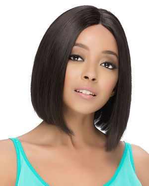 Jelena Lace Front Remy Human Hair Wig by Vivica Fox