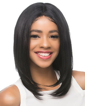 Lyon Lace Front Remy Human Hair Wig by Vivica Fox