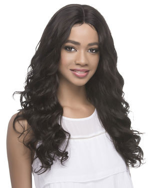 Margo Lace Front Remy Human Hair Wig by Vivica Fox