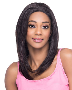 Geneva Lace Front Remy Human Hair Wig by Vivica Fox